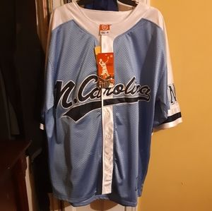 North Carolina Vintage Baseball Jersey (CWS)
